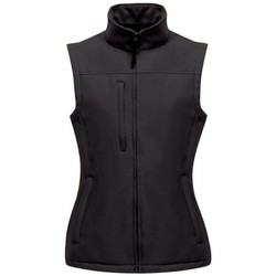Clothing Women Jackets / Cardigans Professional Flux Softshell Bodywarmer Black Black