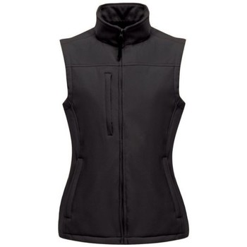 Clothing Women Jackets / Cardigans Professional FLUX Soft-Shell Bodywarmer Black