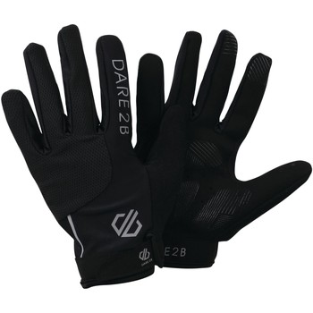 Clothes accessories Men Gloves Dare 2b FORCLIVE Breathable Technical Gloves Black