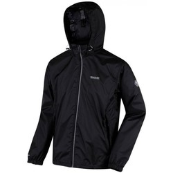 Clothing Men Fleeces Regatta Lyle IV Lightweight Waterproof Packaway Walking Jacket Black Black