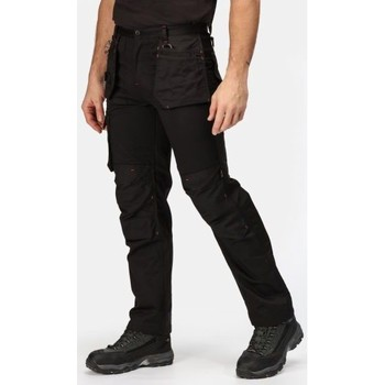Clothing Men Cargo trousers Professional Incursion Work Trousers Black Black