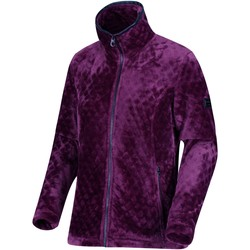 Clothing Women Fleeces Regatta Halona Full Zip Fleece Purple Purple