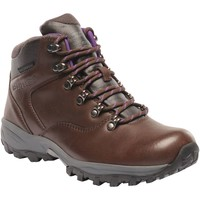 Shoes Women Walking shoes Regatta Bainsford Waterproof Hiking Boots Brown Brown