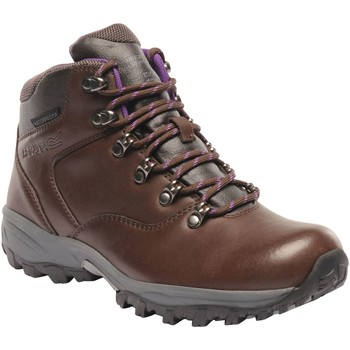 Shoes Women Boots Regatta Bainsford Hiking Boots Brown Brown
