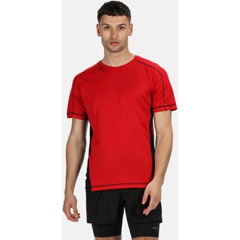 Clothing Men short-sleeved t-shirts Professional Beijing Lightweight Cool and Dry T-Shirt Red Red