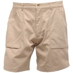 Clothing Men Shorts / Bermudas Professional ACTION Water-Repellent Shorts Lichen Cream Cream