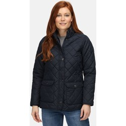 Clothing Women Duffel coats Professional TARAH Quilted Jacket Navy Blue Blue