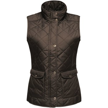 Clothing Women Jackets / Cardigans Professional Tarah Body Warmer Black Black