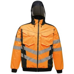 Clothing Men Coats Professional HIVISPRO BOMBER Yellow Navy Orange Orange