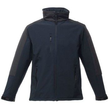 Clothing Men Fleeces Professional Hydroforce 3 Layer Membrane Hooded Softshell Jacket Blue Blue