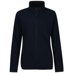 Clothing Women Fleeces Professional Dreamste Full Zip Mini Honeycomb Fleece Blue Blue