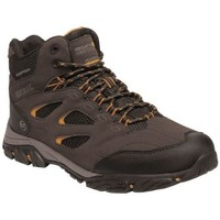 Shoes Men Walking shoes Regatta Holcombe IEP Mid Waterproof Walking Boots Brown Brown