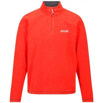 Clothing Men Fleeces Regatta THOMPSON Half-Zip Fleece Red