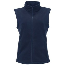 Clothing Women Jackets / Cardigans Professional Micro Fleece Bodywarmer Blue Blue