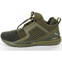 Shoes Men Running shoes Puma Ignite Limitless Green, Olive