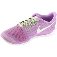 Shoes Girl Low top trainers Nike Free 50 GS Violet