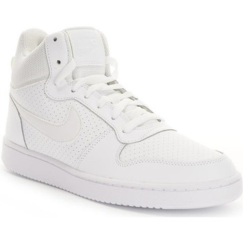 Shoes Men Hi top trainers Nike Court Borough Mid White