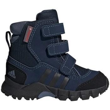 Shoes Children Snow boots adidas Originals CW Holtanna Snow CF Black,Navy blue