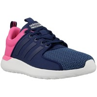 Shoes Women Low top trainers adidas Originals Cloudfoam Lite Racer W Navy blue, Pink