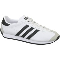 Shoes Children Low top trainers adidas Originals Country OG J White,Black