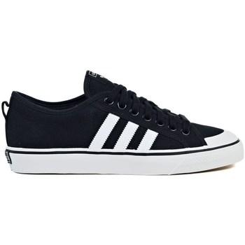 Shoes Men Low top trainers adidas Originals Nizza Black