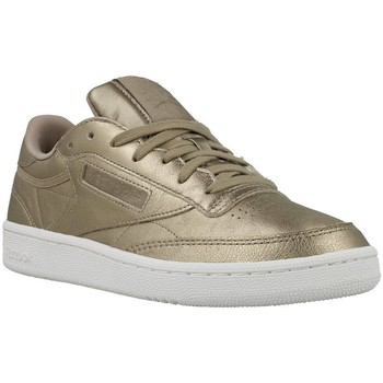 Shoes Women Low top trainers Reebok Sport Club C 85 Melted ME Golden