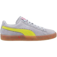 Shoes Women Low top trainers Puma Suede Wns SW Illusion Grey, Yellow