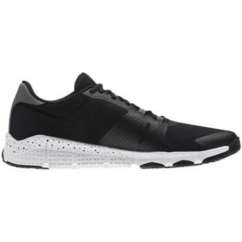 Shoes Men Low top trainers Reebok Sport TRAINFLEX20 Black White,Black