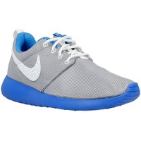 Shoes Children Low top trainers Nike Roshe One GS Grey, Blue