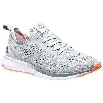 Shoes Women Running shoes Reebok Sport Print Smooth Clip U Greywhiteguava Pun White,Grey