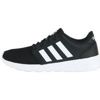 Shoes Women Low top trainers adidas Originals Cloudfoam QT Racer White, Black