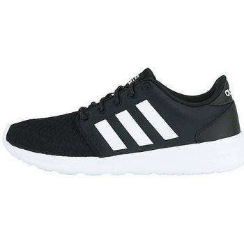 Shoes Women Low top trainers adidas Originals Cloudfoam QT Racer White, Black