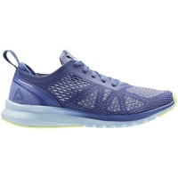 Shoes Women Running shoes Reebok Sport Print Smooth Clip U Lilacblueflashwht Light blue,Violet