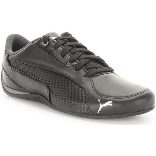 Shoes Men Low top trainers Puma Drift Cat 5 Carbon Black