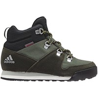 Shoes Children Running shoes adidas Originals CW Snowpitch K Green