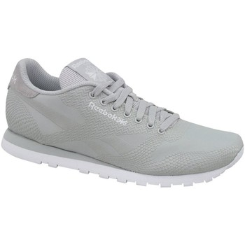 Shoes Men Low top trainers Reebok Sport CL Runner Jacquard Grey