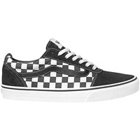 Shoes Men Low top trainers Vans MN Ward White, Black, Grey