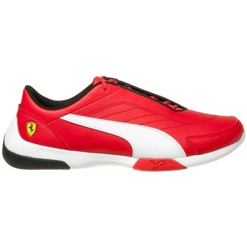 Shoes Men Low top trainers Puma SF Kart Cat Iii White,Red