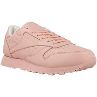 Shoes Women Low top trainers Reebok Sport CL Lthr Pastels Pink