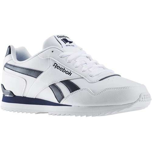 Shoes Men Low top trainers Reebok Sport Royal Glide White,Black