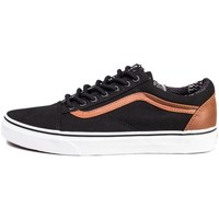 Shoes Low top trainers Vans Old Skool CL B White, Black, Brown