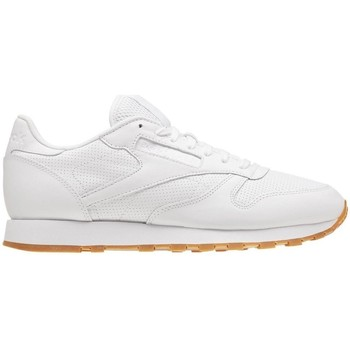 Shoes Men Low top trainers Reebok Sport Classic Leather PG White