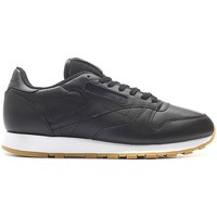 Shoes Men Low top trainers Reebok Sport Classic Leather PG Black