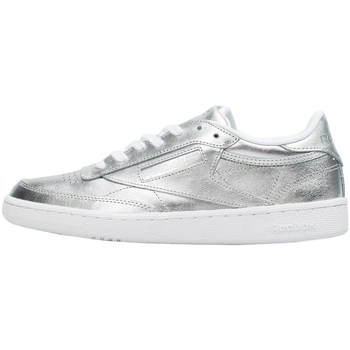Shoes Women Low top trainers Reebok Sport Club C 85 S Shine Silver