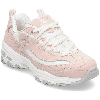 Shoes Girl Running shoes Skechers Dlites Biggest Fan Pink