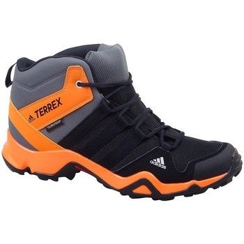 Shoes Children Walking shoes adidas Originals Terrex AX2R Mid CP Black,Grey,Orange