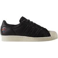 Shoes Men Low top trainers adidas Originals Superstar 80S Cny Black