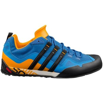 Shoes Men Low top trainers adidas Originals Terrex Swift Solo Blue, Orange