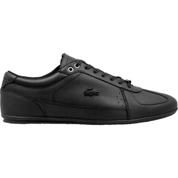Shoes Men Low top trainers Lacoste Evara Black