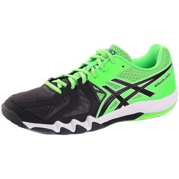 Shoes Men Tennis shoes Asics Gelblade 5 Black, Green